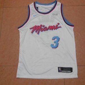 NBA New Miami Heat Dwyane Wade Authentic Jersey